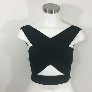 Urban Outfitters Silence &Noise bandage crop top-L